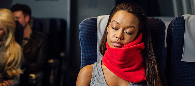 cuscino da viaggio leggero e sottile